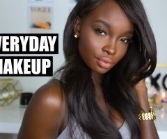 (Video) Everyday Makeup For Dark Skin
