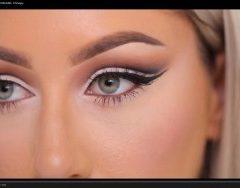 (Video) How Do The Cut Crease Eye Makeup
