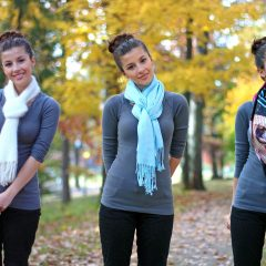 Video – Scarf Tying in 10 Ways