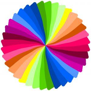 Color spiral.