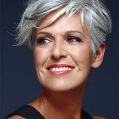 Grey Hair Is A Growing Trend
